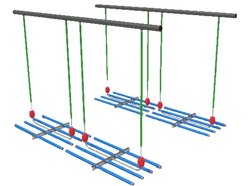 Paddle aeration system