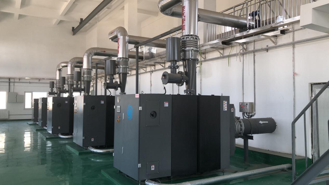 宁夏平罗工业园区循环园污水厂磁悬浮风机