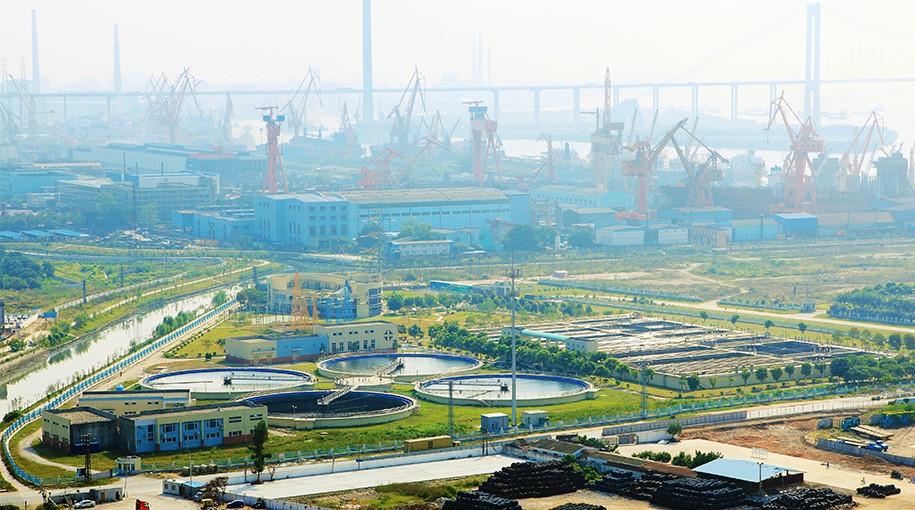 广州大沙地净水厂项目