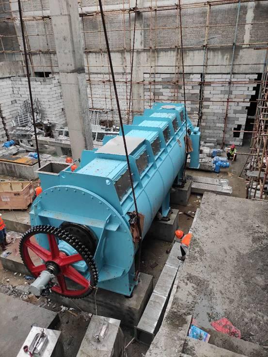 广州西朗净水厂项目